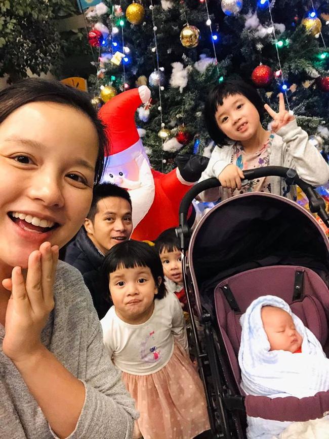 """MC Minh Trang """"thú nhận"""" đẻ 4 đứa con rất ồn ào và đau đầu, nhiều lúc chỉ ước... nhét hết cả đám lại vào bụng khiến chị em cười lăn - Ảnh 2."""