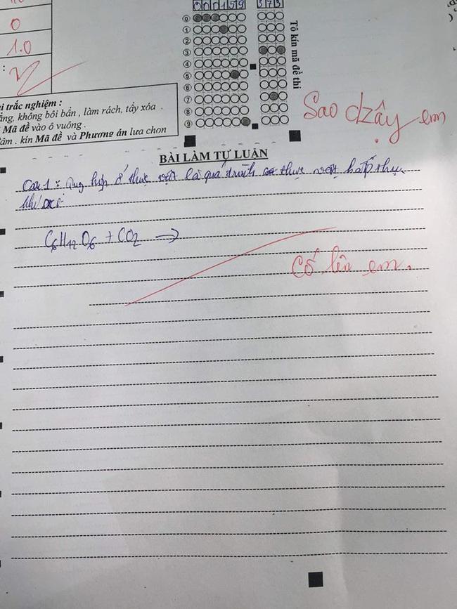 Học sinh để trống bài thi, cô giáo không quát mắng mà thả nhẹ 1 câu động viên, ai đọc cũng sụt sùi: Sao ấm áp thế! - Ảnh 2.