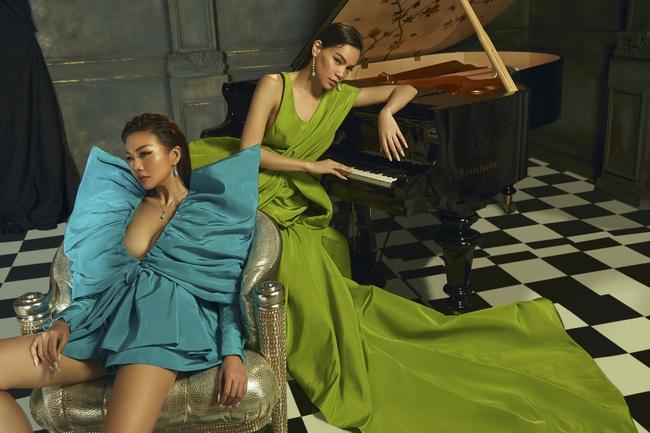 Duy mĩ trong từng khoảnh khắc, bộ ảnh Xuân/Hè 2020 của NTK Công Trí có tất cả: Thanh Hằng, Hồ Ngọc Hà và thời trang - Ảnh 4.