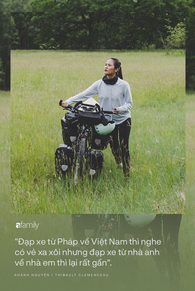 Những người trẻ chọn lối đi khó và chuyến trăng mật phiêu lưu kéo dài 1 năm, đội nón lá đạp xe 16.000km từ Pháp về Việt Nam - Ảnh 3.