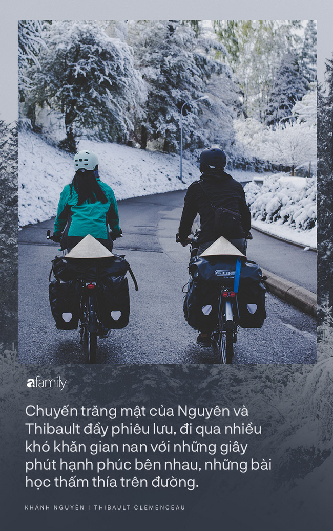 Những người trẻ chọn lối đi khó và chuyến trăng mật phiêu lưu kéo dài 1 năm, đội nón lá đạp xe 16.000km từ Pháp về Việt Nam - Ảnh 10.