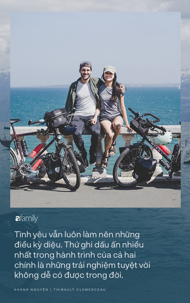 Những người trẻ chọn lối đi khó và chuyến trăng mật phiêu lưu kéo dài 1 năm, đội nón lá đạp xe 16.000km từ Pháp về Việt Nam - Ảnh 11.