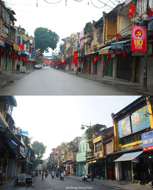 Sự đổi thay ngỡ ngàng của những con phố cổ xưa trong lòng Hà Nội suốt 1 thập kỷ, nhìn lại ai cũng thấy mênh mang - Ảnh 5.
