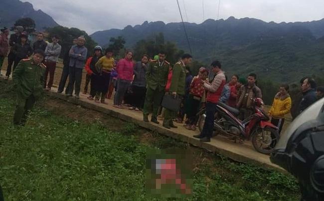 Cô gái trẻ tử vong bất thường giữa cánh đồng ở Hà Giang - Ảnh 1.