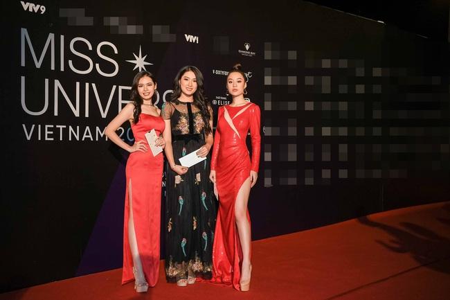 Thảm đỏ bán kết Hoa hậu Hoàn vũ Việt Nam 2019: Vũ Thu Phương quyền lực đọ dáng bên cạnh người đẹp Hương Giang - Ảnh 9.