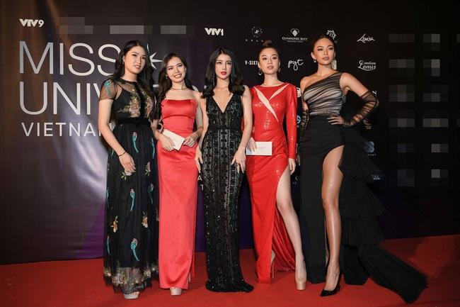 Thảm đỏ bán kết Hoa hậu Hoàn vũ Việt Nam 2019: Vũ Thu Phương quyền lực đọ dáng bên cạnh người đẹp Hương Giang - Ảnh 6.