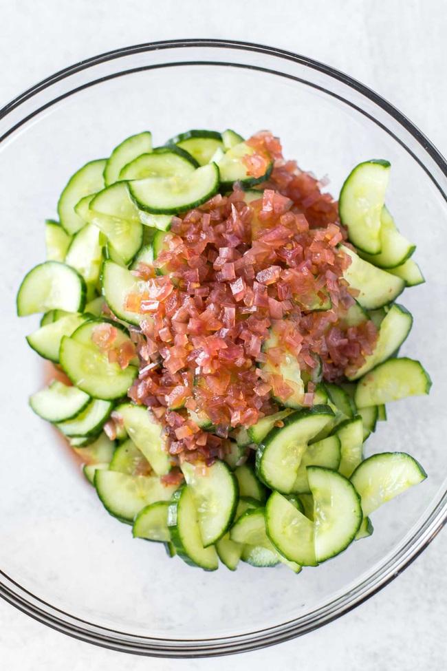 Sắp Tết rồi, chăm chỉ làm salad dưa leo ăn để giảm cân giữ dáng thôi các mẹ! - Ảnh 4.