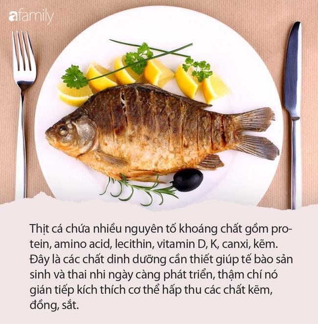 Những loại cá có lợi cho sự phát triển của thai nhi và 3 loại cá bà bầu cần tránh - Ảnh 1.