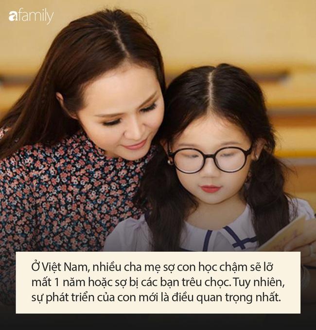 Lời khuyên đắt giá của chuyên gia đối với cha mẹ đang có ý định cho con học lại mẫu giáo, học lớp 1 chậm 1 năm - Ảnh 3.