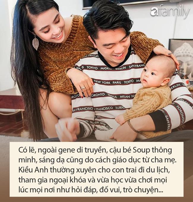 Con trai ca nương Kiều Anh 2 tuổi nói chưa sõi nhưng đã rành tiếng Anh, bất ngờ nhất là khả năng ghi nhớ tuyệt vời - Ảnh 5.