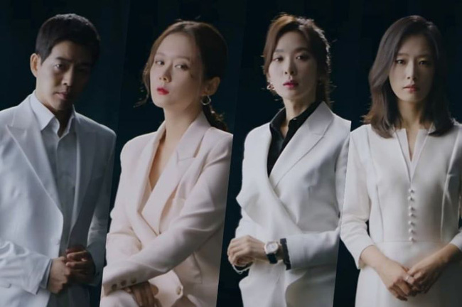 """Jang Nara thẳng chân đá Lee Sang Yoon vì đọc nhầm thoại tại hậu trường phim """"Vị khách VIP"""" - Ảnh 8."""