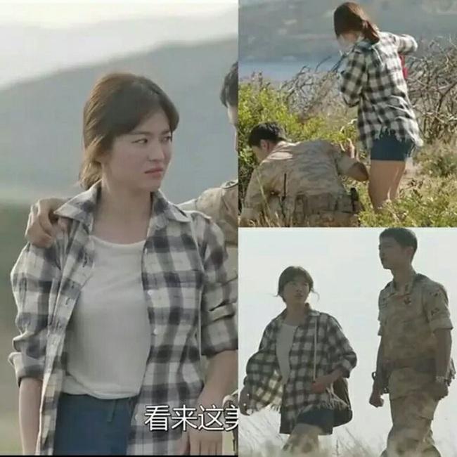 Chiếc áo sơ mi Song Hye Kyo mới mặc có liên quan mật thiết đến Song Joong Ki? - Ảnh 4.