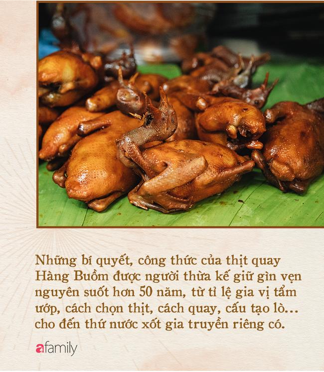 """""""Bí mật thành công"""" của hàng thịt quay lâu đời nhất Hà Nội, hơn 50 năm vẫn khiến khách xếp hàng dài như trẩy hội - Ảnh 6."""