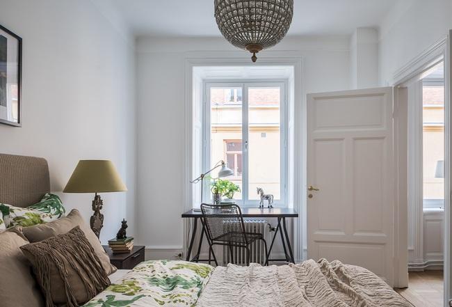 Nội thất màu sáng hài hòa trong căn hộ màu trắng xám siêu hiện đại ở Nga - Ảnh 8.