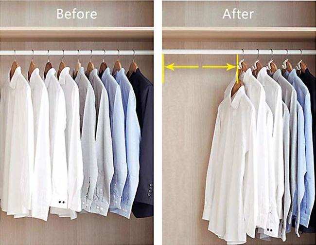 10 ý tưởng tổ chức tủ quần áo để bạn không phải đau đầu - Ảnh 1.