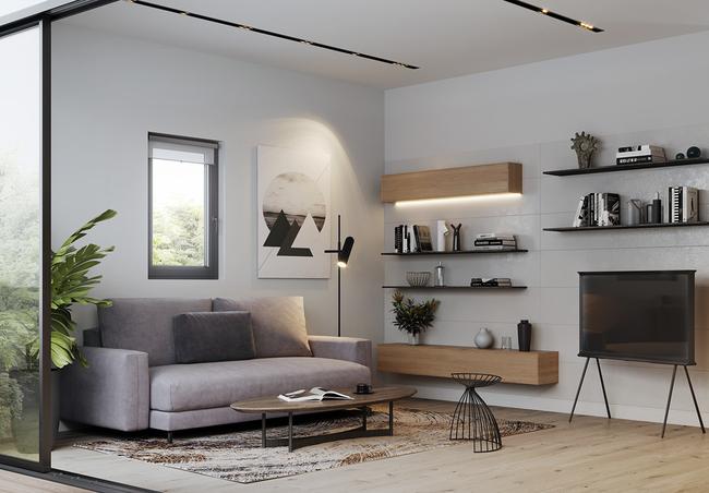 Tư vấn thiết kế căn nhà nhỏ gọn có diện tích 40m2 với chi phí gần 60 triệu đồng - Ảnh 4.