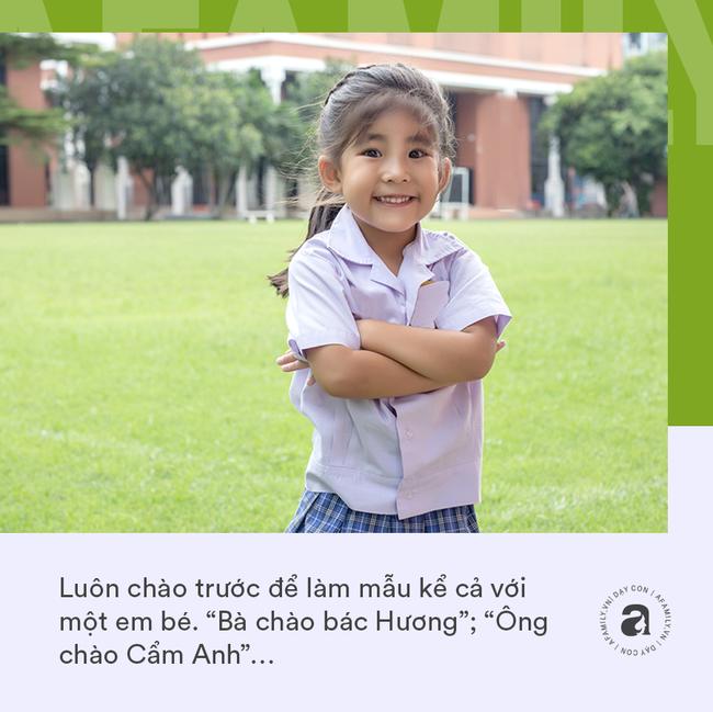"""Nhà giáo Montessori gợi ý dạy con chào hỏi đúng cách và tháo gỡ """"nỗi khổ tâm"""" của cha mẹ khi con không chịu mở lời - Ảnh 3."""