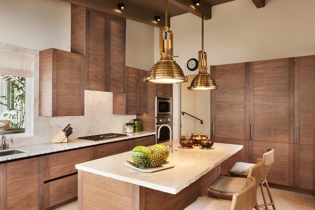 Chẳng thể ngờ chỉ với vài món phụ kiện đồng lại khiến diện mạo căn bếp trông rực rỡ hơn hẳn - Ảnh 18.