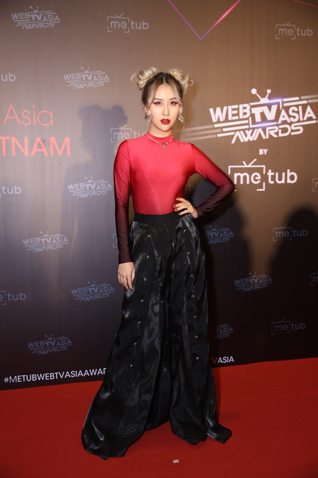 Thảm đỏ WebTVAsia Awards 2019:  - Ảnh 12.