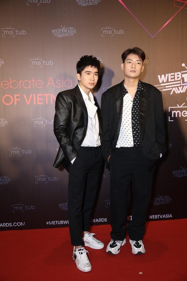 Thảm đỏ WebTVAsia Awards 2019: Nhã Phương xinh đẹp dịu dàng, Á hậu Huyền My gợi cảm khoe vòng 1 căng đầy - Ảnh 5.