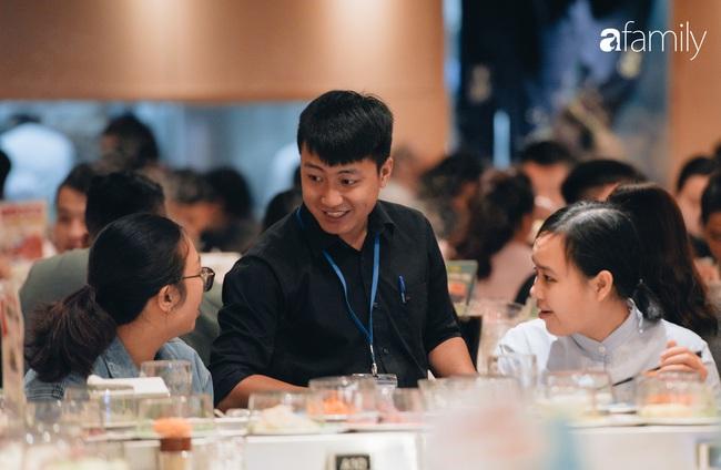 Trải nghiệm phố ẩm thực ngày đầu tiên mở cửa tại Aeon Mall Hà Đông: Hàng chục cái tên nổi tiếng, đồ ăn hấp dẫn, đông khách - Ảnh 18.