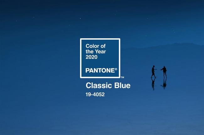 Viện Pantone công bố màu sắc chào mừng kỷ nguyên mới 2020: Màu xanh cổ điển - Biểu tượng của di sản thời hiện đại - Ảnh 1.