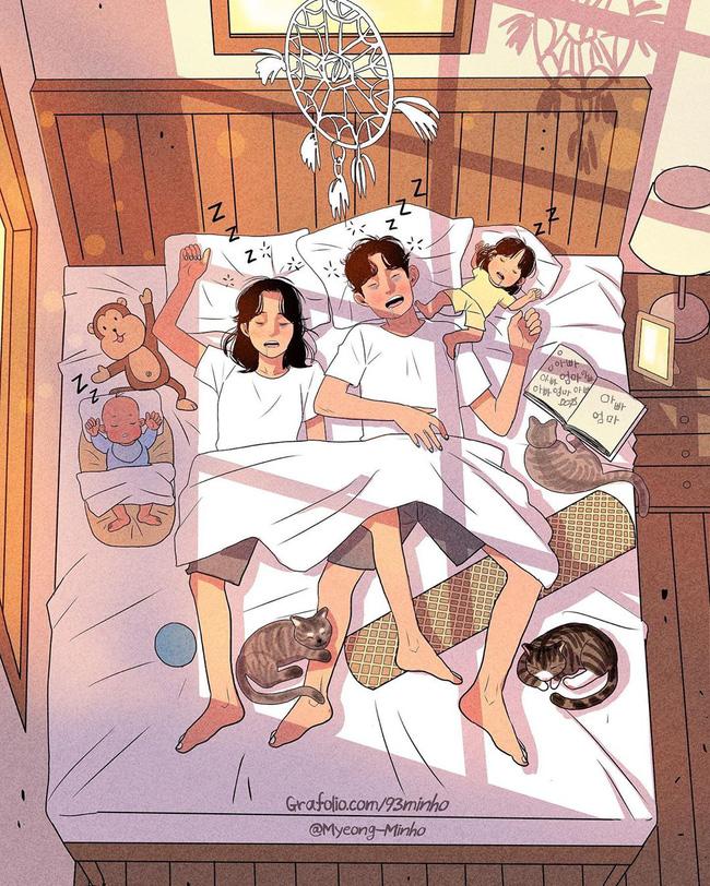 Không rời mắt được trước bộ ảnh nhẹ nhàng sâu lắng của gia đình có 2 con nhỏ: Cuộc sống chỉ cần bình yên như này là đủ rồi - Ảnh 7.