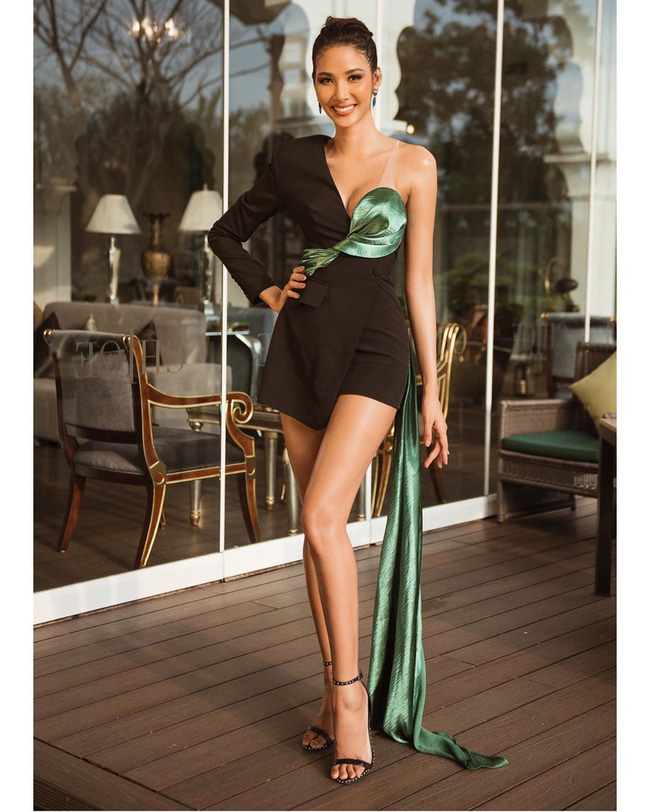 Hoàng Thùy tại Miss Universe 2019: Trang phục đầu tư đã đành, giày cao gót cũng chưa đôi nào đi lại lần 2 kể từ khi sang Mỹ  - Ảnh 2.