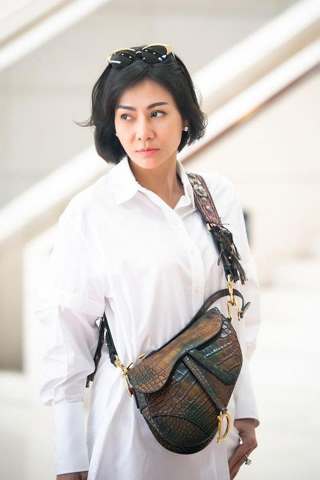 """Chỉ đi tổng duyệt HHHV, Thu Minh cũng chiếm hết spotlight với chiếc túi bạch tạng """"tiền tạ tiền  tấn"""" - Ảnh 6."""
