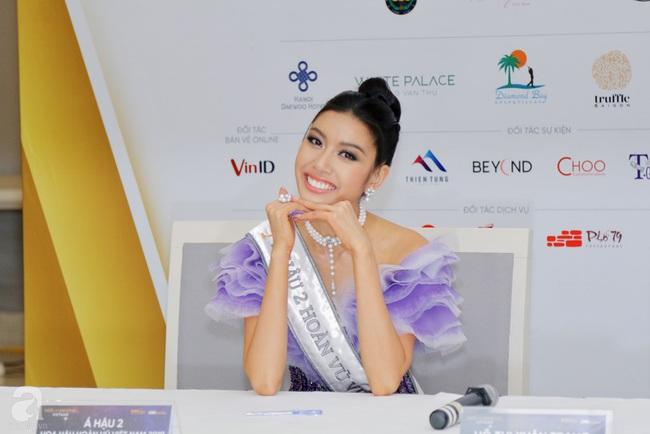 Vụt mất danh hiệu cao nhất, Thúy Vân vẫn làm điều này với Tân Hoa hậu và Á hậu 1 - Ảnh 4.