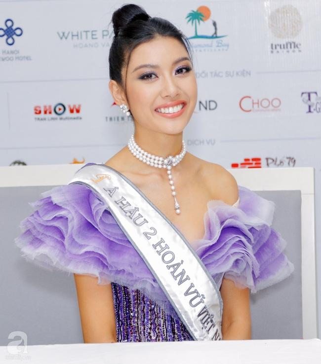 Vụt mất danh hiệu cao nhất, Thúy Vân vẫn làm điều này với Tân Hoa hậu và Á hậu 1 - Ảnh 2.