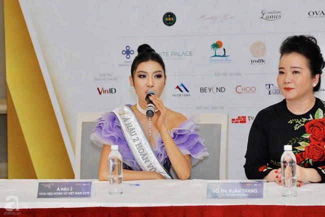 Vụt mất danh hiệu cao nhất, Thúy Vân vẫn làm điều này với Tân Hoa hậu và Á hậu 1 - Ảnh 3.