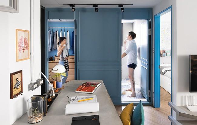 Vợ chồng trẻ hào phóng chi tiền để cải tạo căn hộ 20 năm tuổi trở nên đẹp như ý muốn - Ảnh 2.