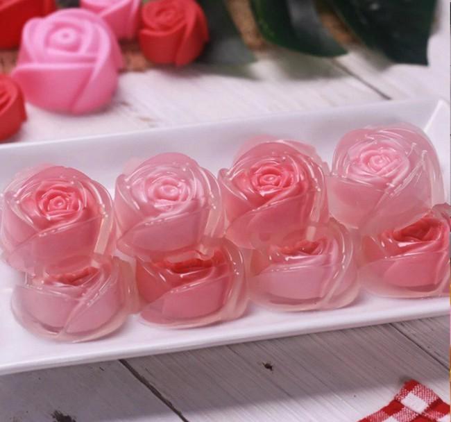 Không ai mà không tan chảy cả tim với món thạch hoa hồng đẹp lung linh dường này - Ảnh 5.