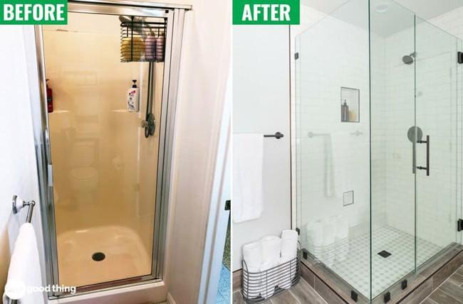 Những mẹo thú vị có thể bạn không nghĩ ra khi cải tạo phòng tắm nhỏ - Ảnh 5.