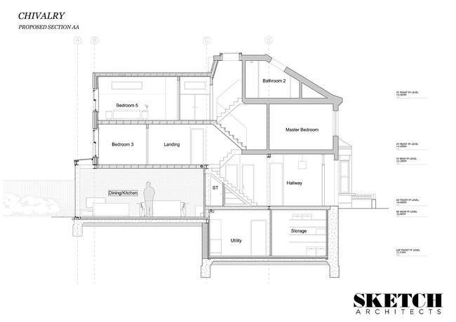 Chỉ với 3 vật liệu đơn giản, kiến trúc sư đã giúp ngôi nhà chật chội này có lối thoát tài tình - Ảnh 13.