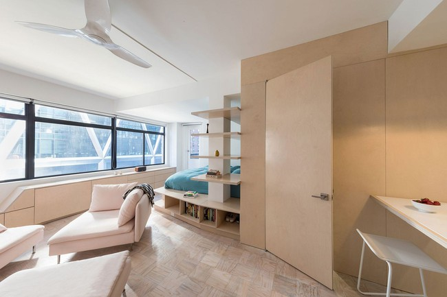 Học lỏm ngay cách phân vùng không gian sống thông minh từ căn hộ nhỏ - Ảnh 2.