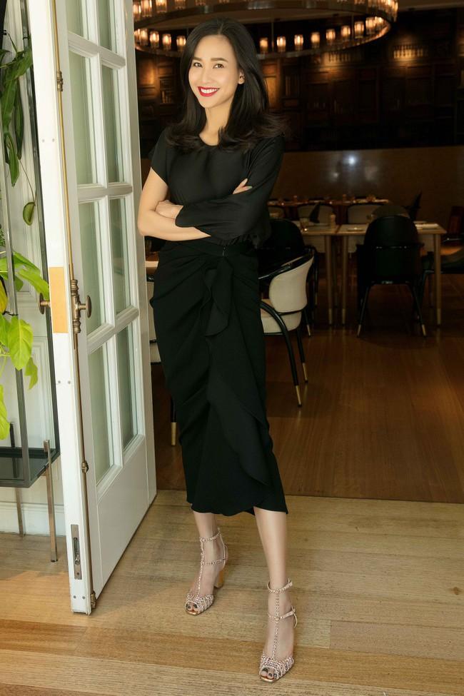 Diễm My 9X cuốn hút với váy đen khoe vai trần nõn nà, quyến rũ - Ảnh 5.