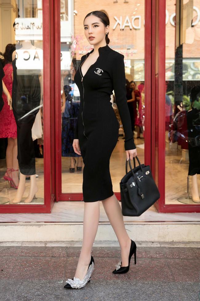 Diễm My 9X cuốn hút với váy đen khoe vai trần nõn nà, quyến rũ - Ảnh 7.