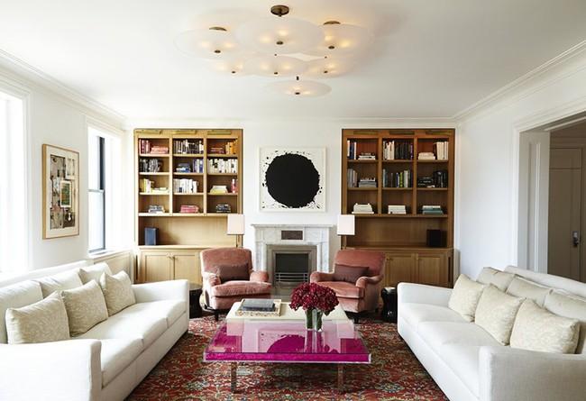 Những mẫu bàn trà cỡ lớn dành riêng cho căn phòng khách rộng rãi của gia đình - Ảnh 2.