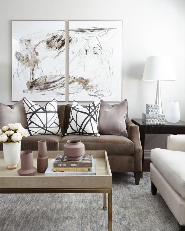Những mẫu bàn trà cỡ lớn dành riêng cho căn phòng khách rộng rãi của gia đình - Ảnh 3.