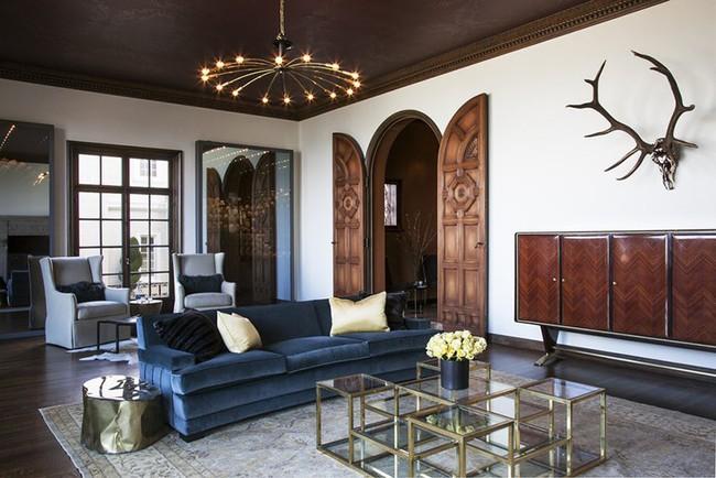 Những mẫu bàn trà cỡ lớn dành riêng cho căn phòng khách rộng rãi của gia đình - Ảnh 11.