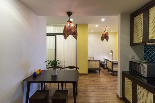 Cần hiện đại nhưng mê chất Việt xưa, chủ nhân căn hộ 73m² ở Minh Khai, Hà Nội đã chi 270 triệu để biến giấc mơ thành sự thực - Ảnh 12.
