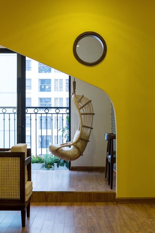 Cần hiện đại nhưng mê chất Việt xưa, chủ nhân căn hộ 73m² ở Minh Khai, Hà Nội đã chi 270 triệu để biến giấc mơ thành sự thực - Ảnh 8.