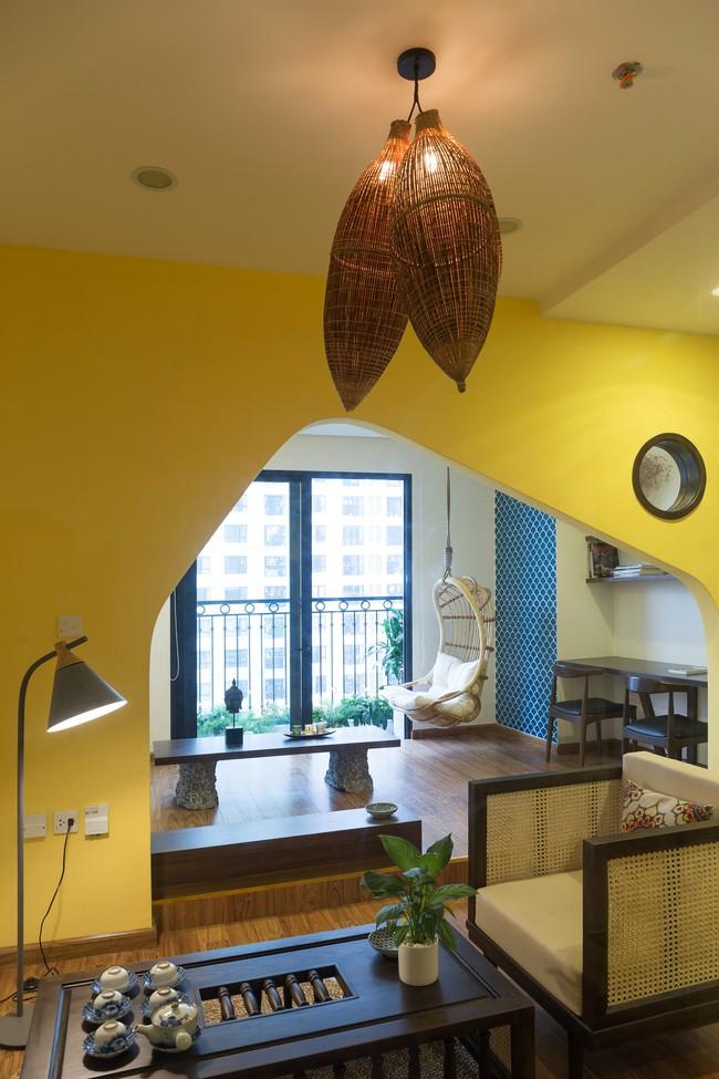 Cần hiện đại nhưng mê chất Việt xưa, chủ nhân căn hộ 73m² ở Minh Khai, Hà Nội đã chi 270 triệu để biến giấc mơ thành sự thực - Ảnh 5.