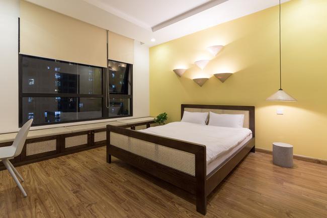 Cần hiện đại nhưng mê chất Việt xưa, chủ nhân căn hộ 73m² ở Minh Khai, Hà Nội đã chi 270 triệu để biến giấc mơ thành sự thực - Ảnh 14.