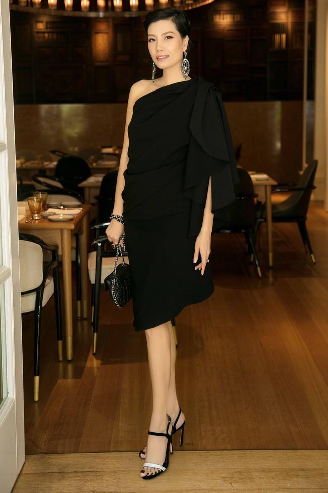Diễm My 9X cuốn hút với váy đen khoe vai trần nõn nà, quyến rũ - Ảnh 8.