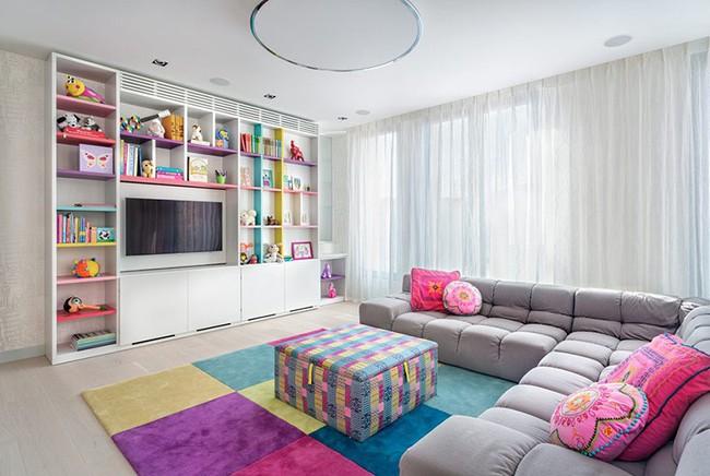 Gợi ý cách thiết kế không gian vui chơi cho trẻ dù nhà bạn nhỏ đến thế nào đi nữa - Ảnh 1.