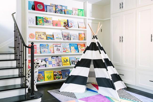Gợi ý cách thiết kế không gian vui chơi cho trẻ dù nhà bạn nhỏ đến thế nào đi nữa - Ảnh 9.