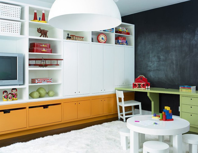 Gợi ý cách thiết kế không gian vui chơi cho trẻ dù nhà bạn nhỏ đến thế nào đi nữa - Ảnh 14.